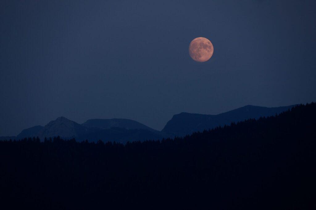 Der Mond im September: Schlaflos bei Vollmond