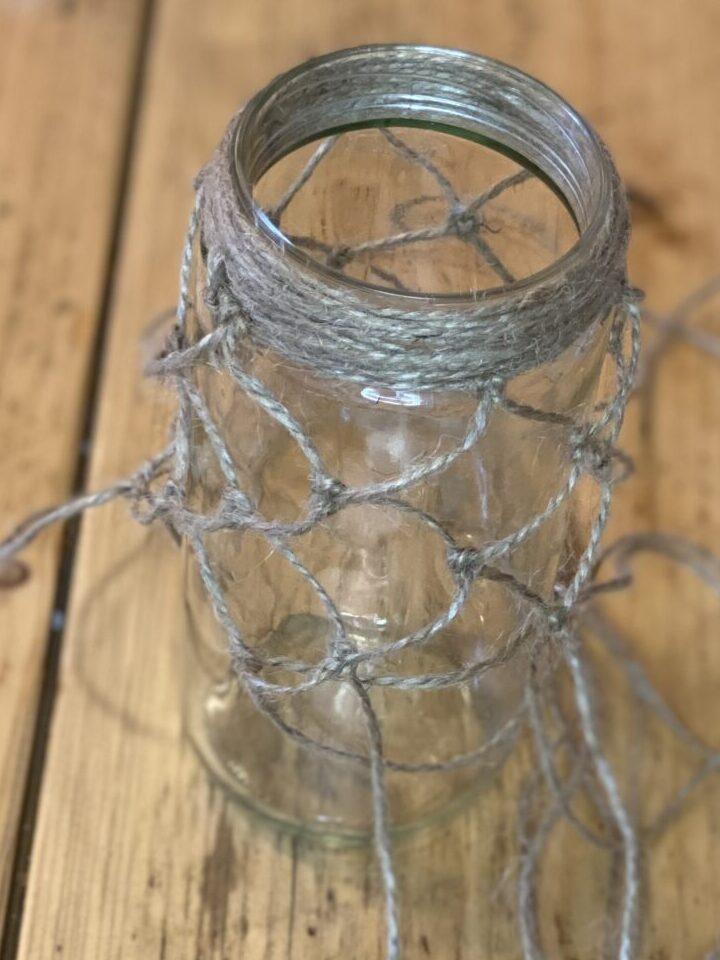 Knotentechnik in Nahaufnahme