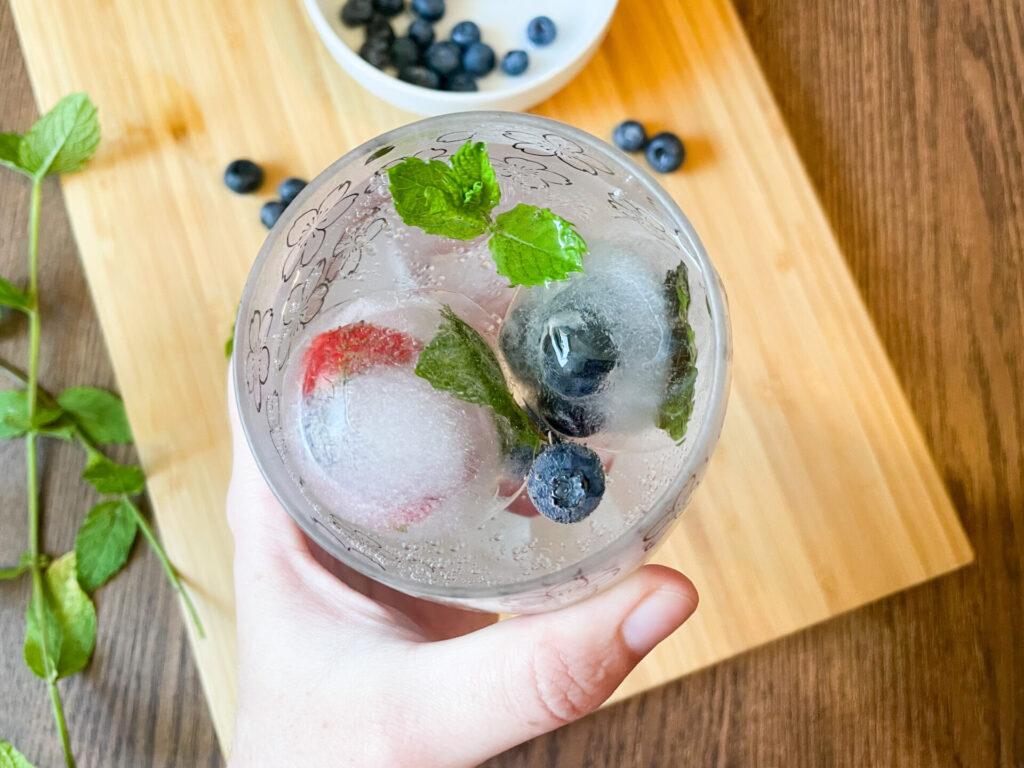 Eiswürfel mit Früchten und Kräutern: 3 einfache Ideen