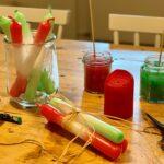 Selbstgemacht: Mit Dip Dye Kerzen in den Herbst starten