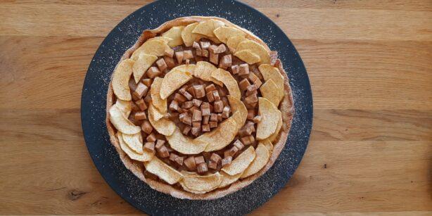 Rezept: Apfel-Birnen-Tarte mit Zimt