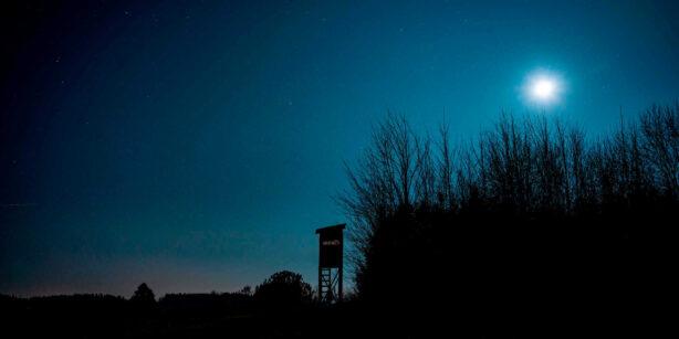 Der Mond im Oktober: der Jagdmond